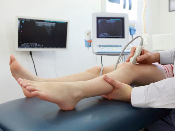 Как проходит процедура ультразвукового исследования вен нижних конечностей